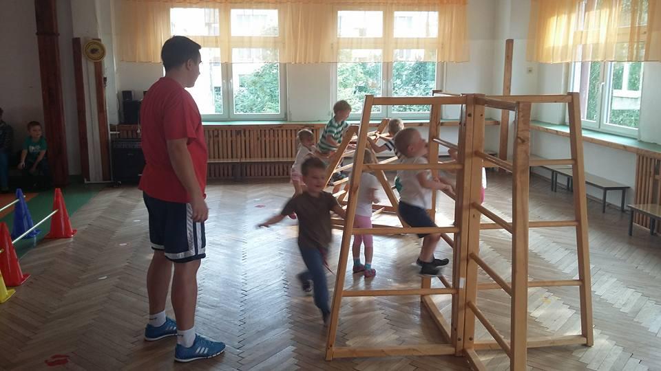 Przedszkolaki zaczynają zajęcia :)