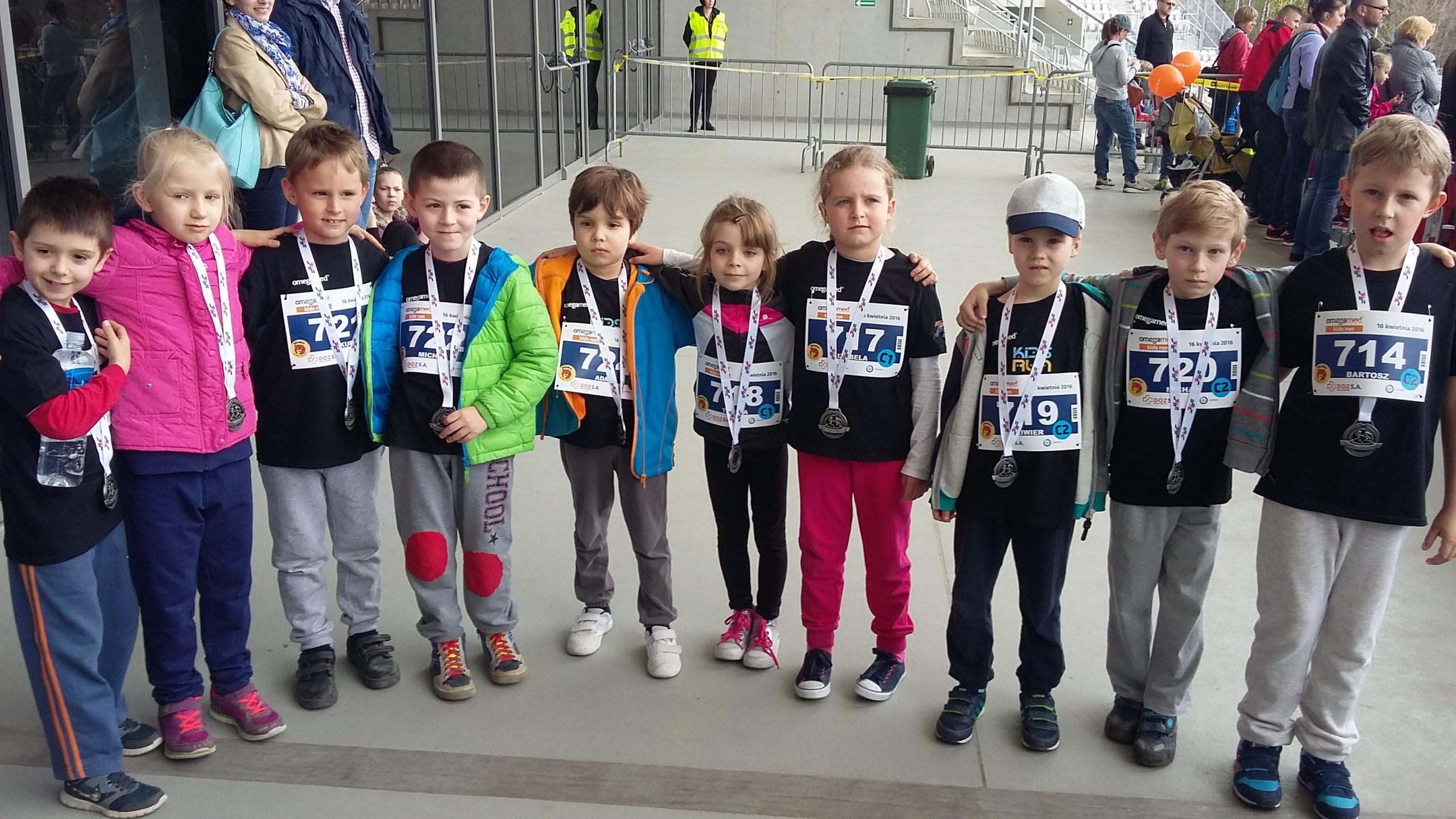 Zachęcamy wszystkie dzieci do udziału w Kids Run