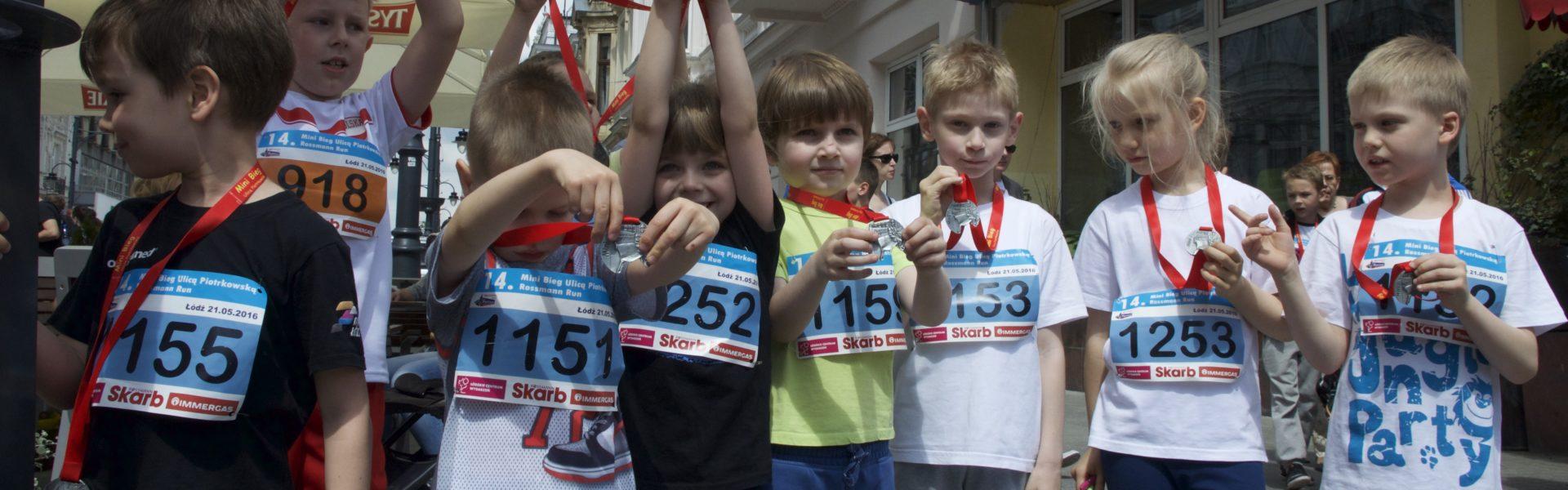 Zachęcamy do udziału w Mini Biegu Ulicą Piotrkowską Rossmann Run