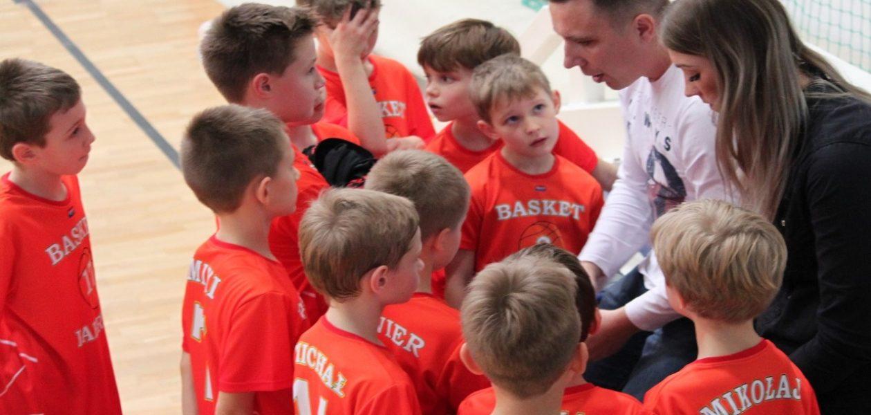 Pierwszy turniej Mini Basket Ligi za nami